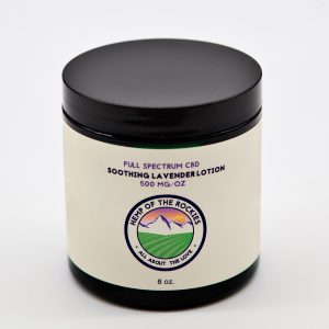 CBD Lotion with Lavender