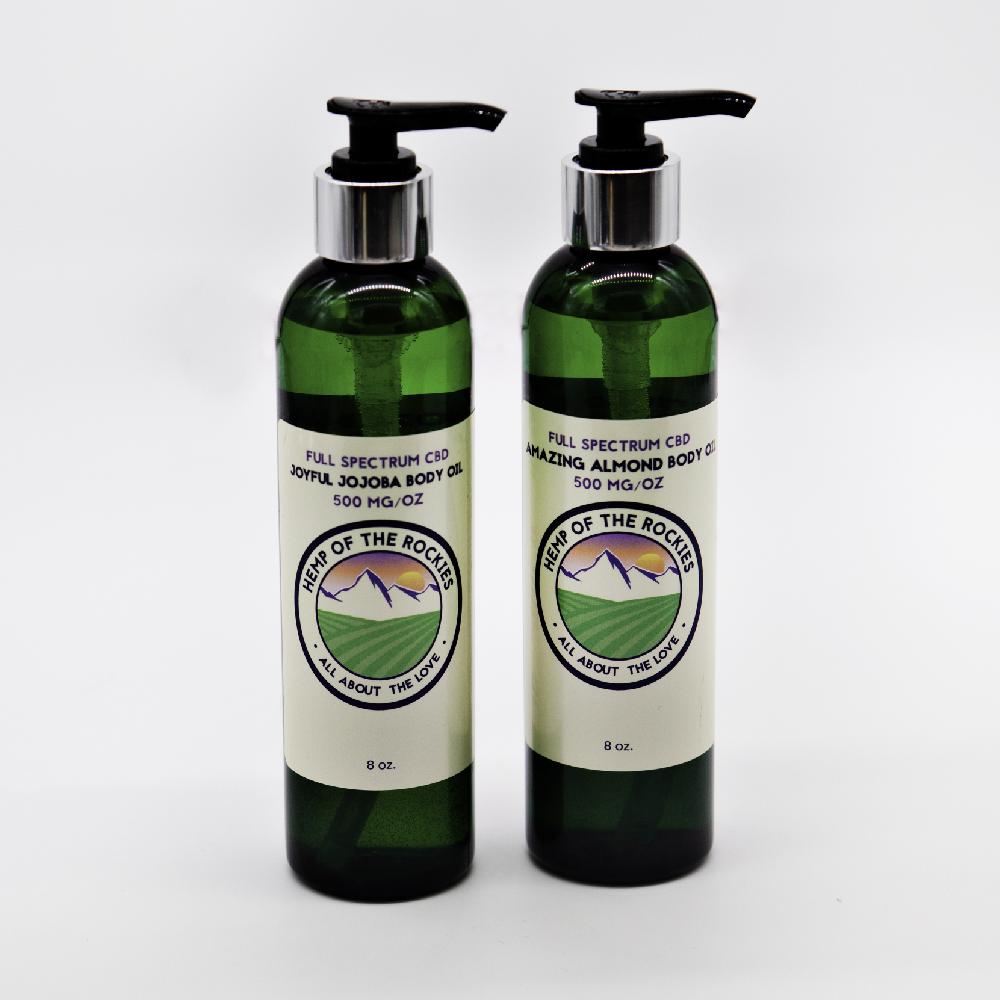 CBD Hemp Body Oils